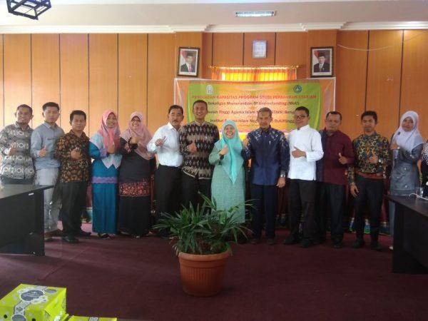 Prodi Perbankan Syari'ah Jalin Kerjasama dengan IAIN Bukittinggi